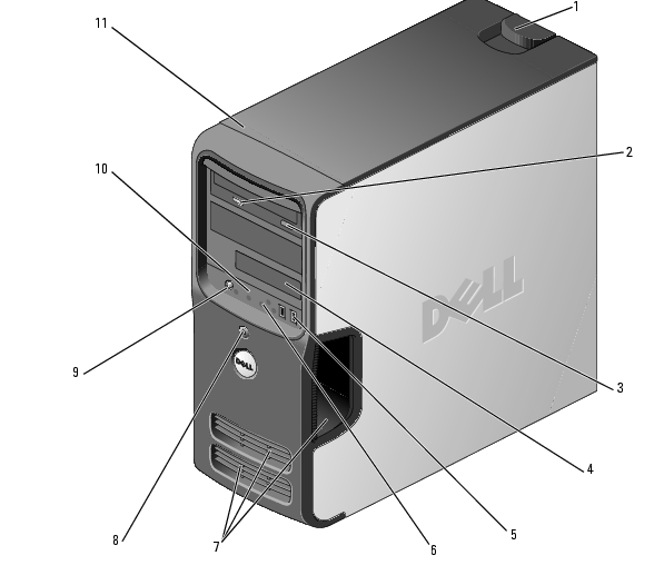 about your dell dimension 3100 e310 computer dell dimension 3100 rh support feelpcs com Processor for Dell Dimension E-310 Dell Dimension E-310 Manual
