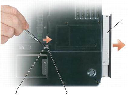 Guia para desarmar Laptop DELL Inspiron 1501