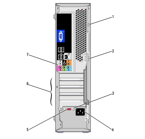 setting up and using your computer dell inspiron 530s series Stereo Wiring Diagrams