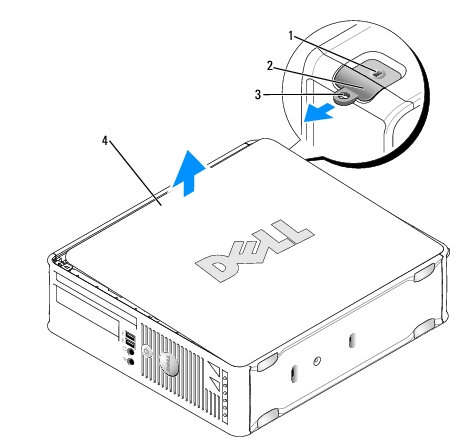 Small Form Factor: Dell OptiPlex 760 Service Manual